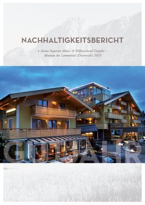 [Translate to en:] Nachhaltigkeitsbericht 2019 Hotel Gutjahr