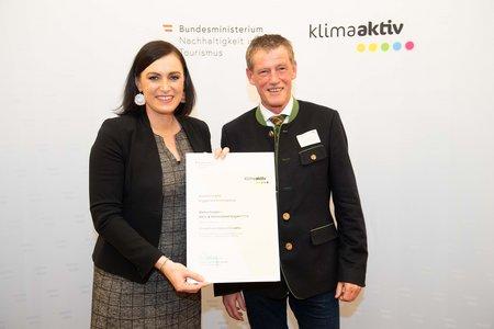 Auszeichnung klimaaktiv